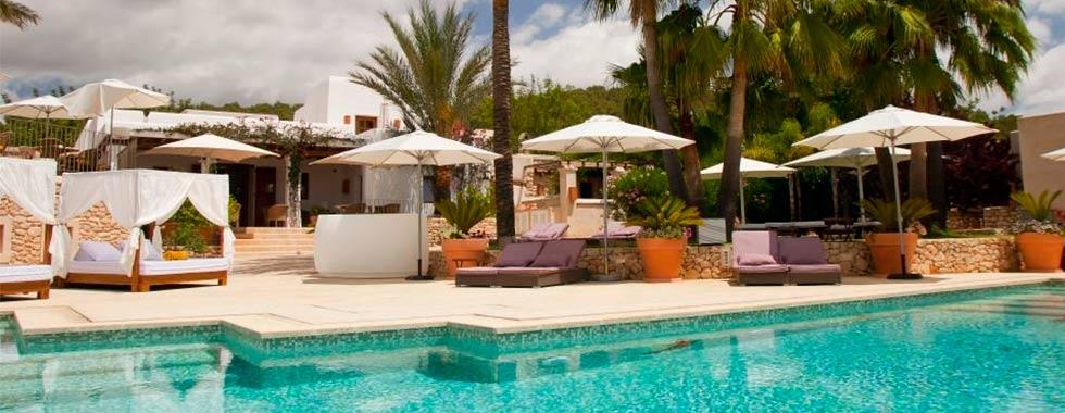 Hotel de lujo en Ibiza Can Lluc